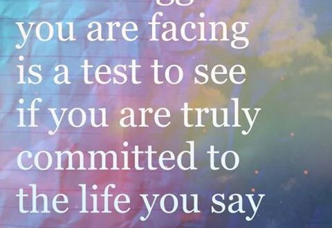 struggle, committed, commit, life, test