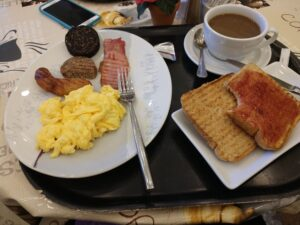 irish breakfast, Dublin, Ireland