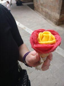 gelato, barcelona, spain